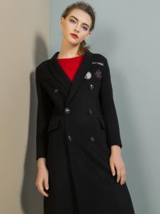 弗卡黑色大衣