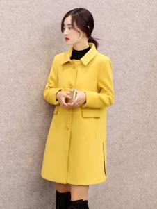 必芙丽黄色大衣