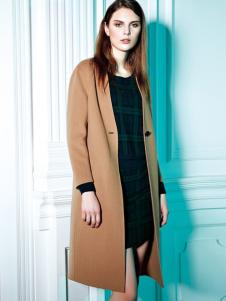 必芙丽棕色大衣