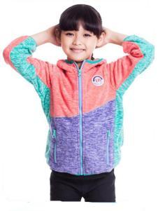 汉邦尚品儿童乐趣系列抓绒外套