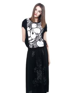 东琳女装2016新品长裙