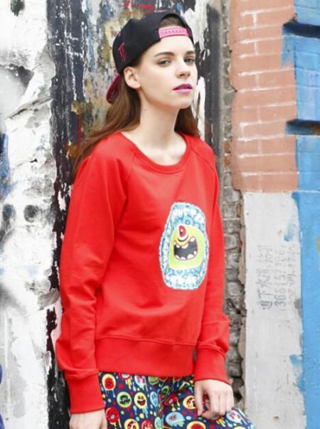 TicTocHouse2016潮牌秋季女款T恤