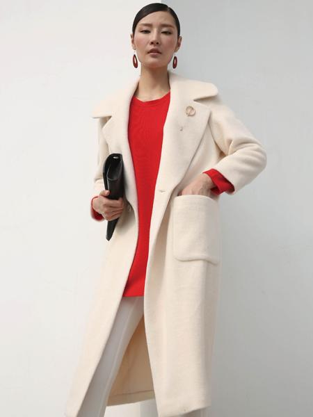 玳莎欧美时尚毛呢大衣新款