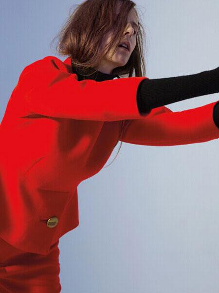2016DOTACOKO红色外套