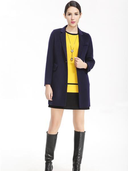 维娜蓝色外套