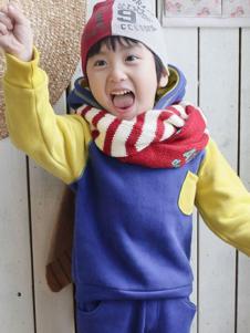 小魔女童装男童带帽卫衣