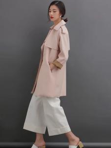 YOSUM粉色大衣