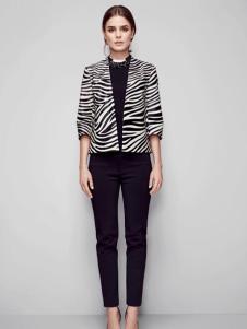 必芙丽豹纹短外套