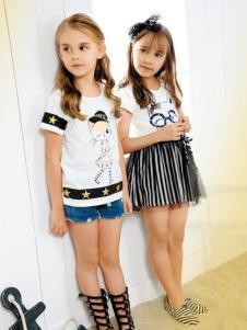 铅笔俱乐部童装产品展示