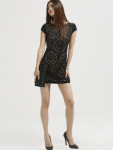 缇蕾娜女装收腰连衣裙