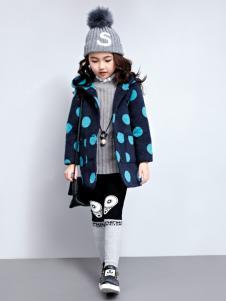 玛玛米雅女童波点外套