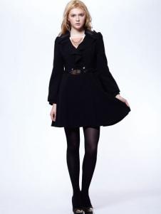 时尚年代女装黑色裙装