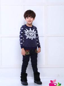 小苹果童装男童毛线衫
