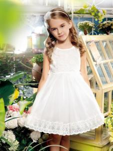 铅笔俱乐部白色时尚连衣裙
