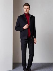 爱迪·丹顿黑色简约外套