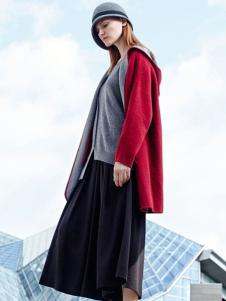 SODOM舜女装2016新品红色外套
