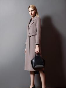 乔帛秋季时尚欧美风衣外套正品