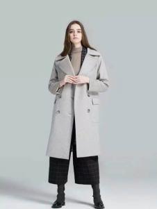 布莎卡冬季时尚毛呢大衣现货