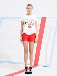 卡芙芮女装2016新品T恤