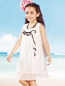 威斯米童装2016新品女童纱裙