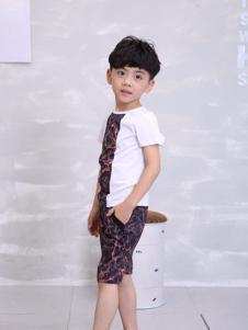 彩虹森林童装2016新品男童T恤