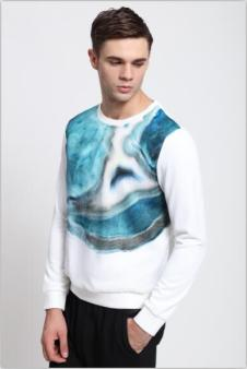 地球之家男装长袖T恤