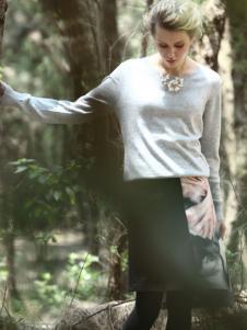 蜜西娅女装2016新品半裙
