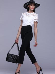 曼维尔女装2016新款小脚裤