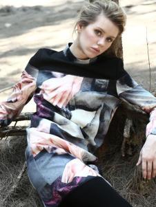 蜜西娅女装2016新品印花套装
