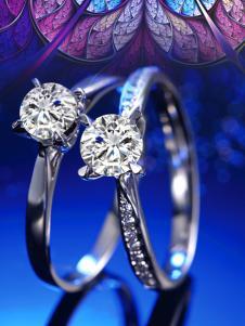 林大生珠宝系列钻石对戒