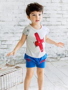 Moimoi末一末一男童T恤