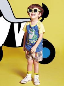 威斯米童装2016新品男童T恤
