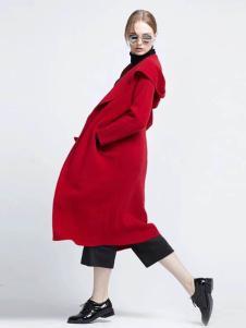 布莎卡冬季时尚长款大衣现货