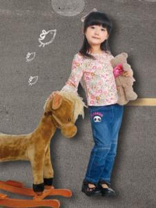小豐龍童裝女童印花T恤