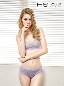 HSIA紫色浪漫时尚内衣内裤
