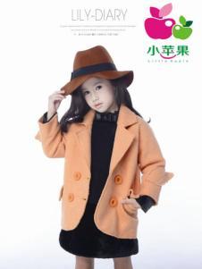 小苹果童装女童呢大衣