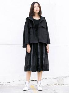 YBS女装2016秋冬新品短款外套