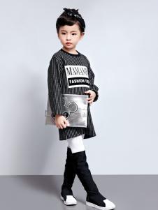 玛玛米雅女童长款T恤