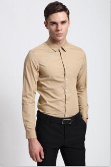 地球之家DQQ男装长袖衬衣