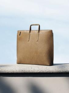 素人手工制作产品灰黄色手提包