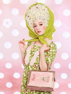 artmi浪漫粉色精致女包正品