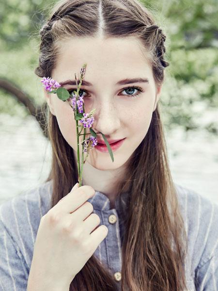 女子卉色2017年春款