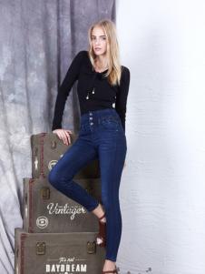 丹尼布鲁秋季欧美牛仔裤