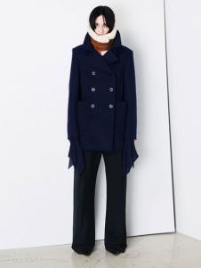 Balenciaga 2016新品双排扣大衣
