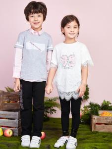 poipoilu2017童装T恤