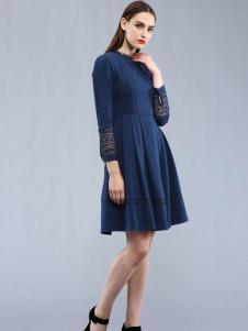 Carmen2016女士蓝色连衣裙