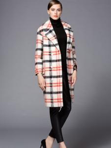 经典故事秋冬格子元素时尚外套