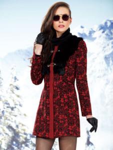 迪如女装秋冬大衣