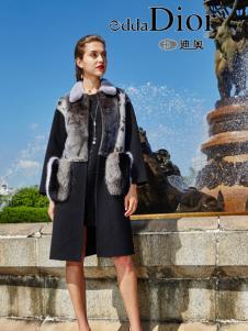 迪奥女装2016冬季新款皮草外套
