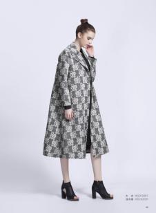 艾玫丽A字欧版大衣